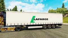 Lafarge skin for trailers for Euro Truck Simulator 2