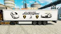 Skin Lamborghini semi-trailers for Euro Truck Simulator 2