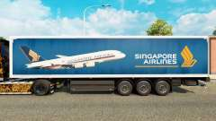 Singapore Airlines skin for trailers