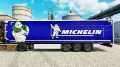 Skin on Michelin semi-trailers