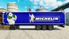 Skin on Michelin semi-trailers