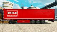 Skin Bartolini on semi for Euro Truck Simulator 2