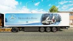 Skin Mercedes-Benz semi-trailers