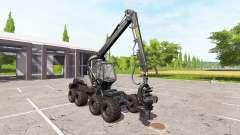 PONSSE ScorpionKing carbon matte for Farming Simulator 2017