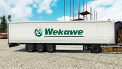Skin Wekawe for trailers for Euro Truck Simulator 2