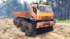 KamAZ-6560 8x8 North for Spin Tires