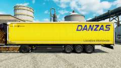 Skin Danzas Logistics for trailers