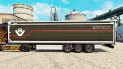 Skin Scania V8 semi