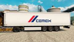 Skin Cemex to trailers for Euro Truck Simulator 2