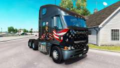 Skin Uncle Sam on the truck Freightliner Argosy