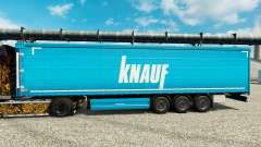 Skin Knauf on semi for Euro Truck Simulator 2
