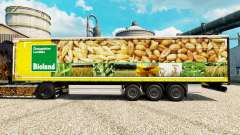 Skin Bioland for trailers for Euro Truck Simulator 2