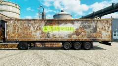 Skin Soylent Green for trailers for Euro Truck Simulator 2