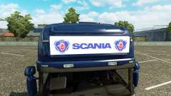 Advertising light box for Scania Streamline