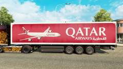 The Qatar Airways skin for trailers