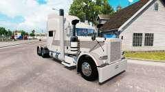 Bullhorn skin for the truck Peterbilt 389