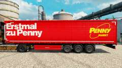 Skin Penny Markt on semi for Euro Truck Simulator 2