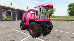 Krone BiG X 1100 pink for Farming Simulator 2017