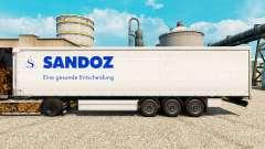 Skin Sandoz for trailers for Euro Truck Simulator 2