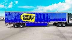 Skin Best Buy on curtain semi-trailer