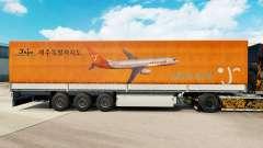 Skin Jeju Air to trailers