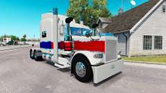 Skin The Pearl at the truck Peterbilt 389
