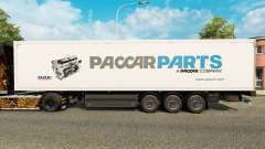 Skin Paccar Parts for trailers