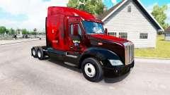 Valor skin for the truck Peterbilt 579