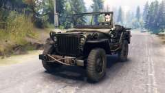 Jeep Willys MB 1942 for Spin Tires