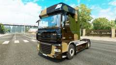 Camo skin for DAF truck