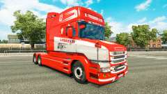 Skin S. Verbeek & ZN. for truck Scania T