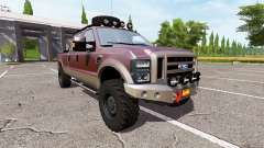 Ford F-250 FX4 utility for Farming Simulator 2017