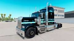 Skin Ervins Transport on truck Kenworth W900