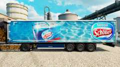 Nestle Scholler skin for trailers for Euro Truck Simulator 2