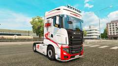 Dukes Transport skin for Scania R700 truck