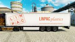 Skin Linpac Plastics for trailers for Euro Truck Simulator 2