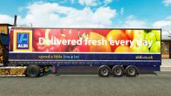 Curtain semi-trailer Aldi v2.0