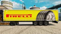 Pirelli skin for trailers for Euro Truck Simulator 2