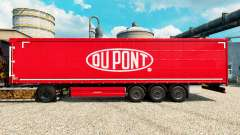 Skin Du Pont red for trailers