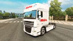 Weyres skin for DAF truck