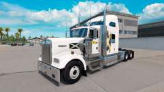 Skin Scotland on the truck Kenworth W900