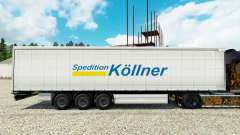 Skin Spedition Kollner on semi for Euro Truck Simulator 2