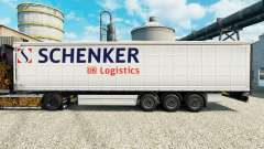 Skin Schenker Logistics to trailers