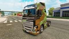Camo skin for Volvo truck