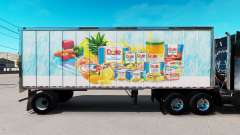 Skin Dole on small trailer