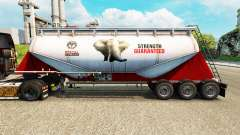 Skin PPC Ltd. cement semi-trailer