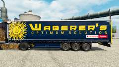 Waberers skin for trailers for Euro Truck Simulator 2