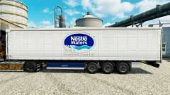Nestle Waters skin for trailers