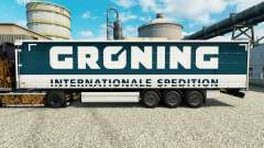 Skin Groening for trailers for Euro Truck Simulator 2