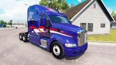 Skin B. T. Inc. the tractor Peterbilt 387